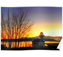Old Lighthouse ~ Port Townsend, WA ~ HDR Series Poster