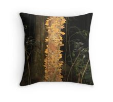 Rainforest Fungus Throw Pillow