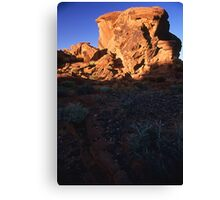 Megalith in the Valley of Fire, Nevada  Canvas Print