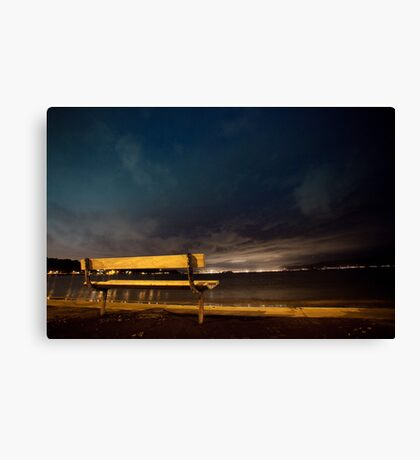Lonely Dark Nights Ahead Canvas Print