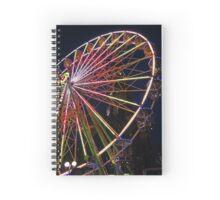 Ferris Wheel in Edinburgh Spiral Notebook
