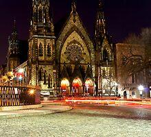 St Paul Church, Baltimore MD. by Drew Poland