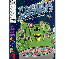 COSMOS Cereal Box by kayve