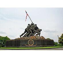 Iwo Jima Marine Memorial Photographic Print