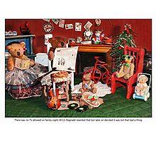 Family Night Photographic Print