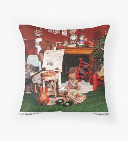 Family Night Throw Pillow