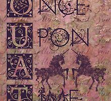 Once Upon a Time (OUAT) - Royal Magenta Evil Regal Unicorn Horse Equine by CanisPicta
