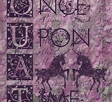 Once Upon a Time (OUAT) - Royal Purple Evil Regal Unicorn Horse Equine by CanisPicta