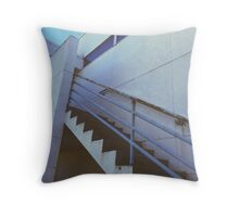 Industrial Staircase Throw Pillow