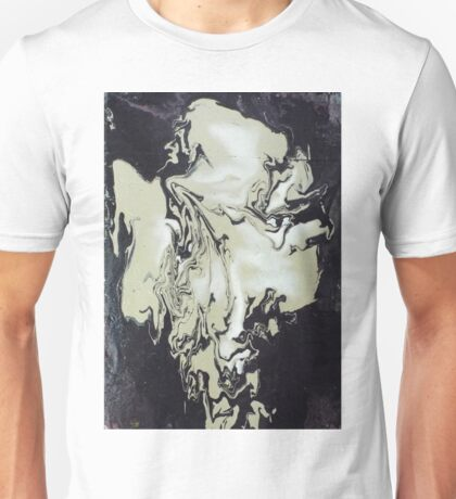 january portrait 2. 17'' x 24''. oil on wood. Unisex T-Shirt