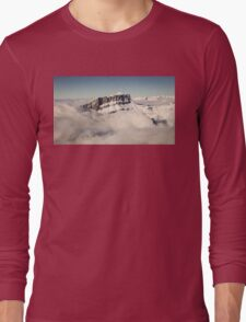 Above the Clouds, French Alps Long Sleeve T-Shirt