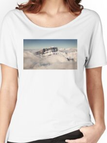 Above the Clouds, French Alps Women's Relaxed Fit T-Shirt