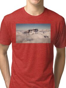 Above the Clouds, French Alps Tri-blend T-Shirt