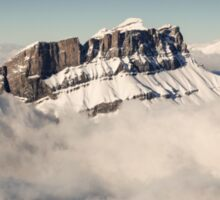 Above the Clouds, French Alps Sticker