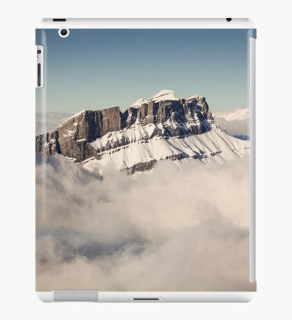 Above the Clouds, French Alps iPad Case/Skin