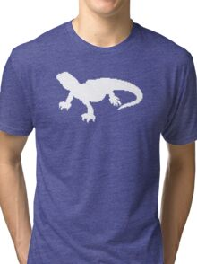 Pixel Lizard Tri-blend T-Shirt