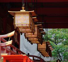Lanterns, Fushimi Inari Taisha Temple  by jojobob