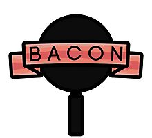 Bacon banner Photographic Print