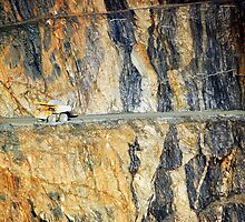 Long haul - Superpit, Kalgoorlie by Melissa Drummond