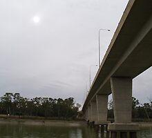 Across the Water - Murray River, Mildura, Australia by Sharlene Bicker