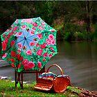 Creek Picnic by Kym Howard
