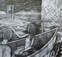 ingress. 11''x14''. graphite on paper. adam sturch by adam sturch