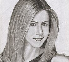 Jennifer Aniston by Rex Hensler