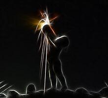 Momotaro Sparkles by Harlequitmix