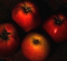 4 Apples-Still life by loinfr