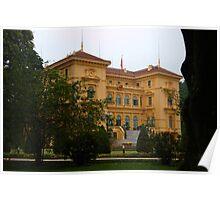 Presidential Palace, Hanoi Poster