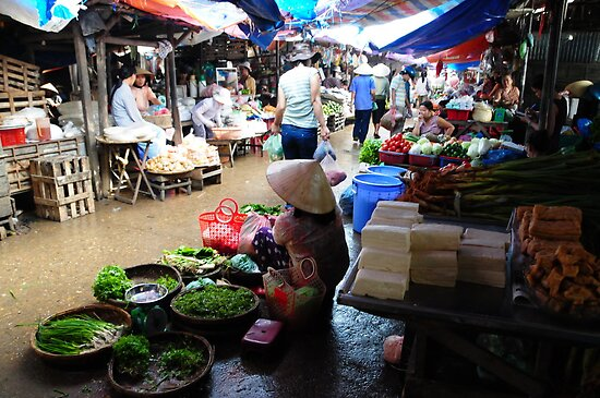 Markets, Hoi An by chriso