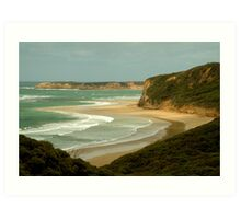 South Side of Bells Beach Art Print