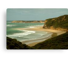 South Side of Bells Beach Canvas Print