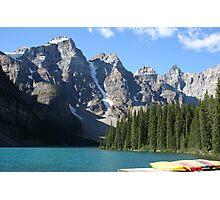 Moraine Lake, Alberta, Canada Photographic Print