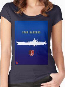STARBLAZERS Women's Fitted Scoop T-Shirt