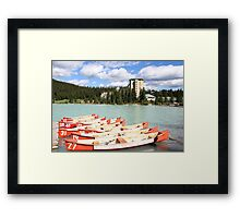 Lake Louise, Alberta, Canada Framed Print