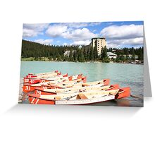 Lake Louise, Alberta, Canada Greeting Card