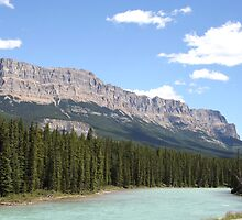 Bow River in Banff National Park, Alberta, Canada by Deb22