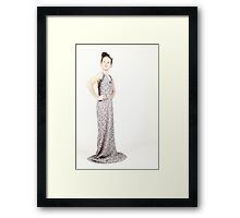 The beautiful Zoe Framed Print
