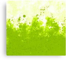 Green Ink Canvas Print