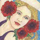 Poppies by redqueenself