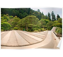 Ginkakuji Temple Gardens  Poster