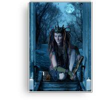 The High Priestess Canvas Print