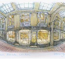 Burlington Arcade, London by Simon Yeomans