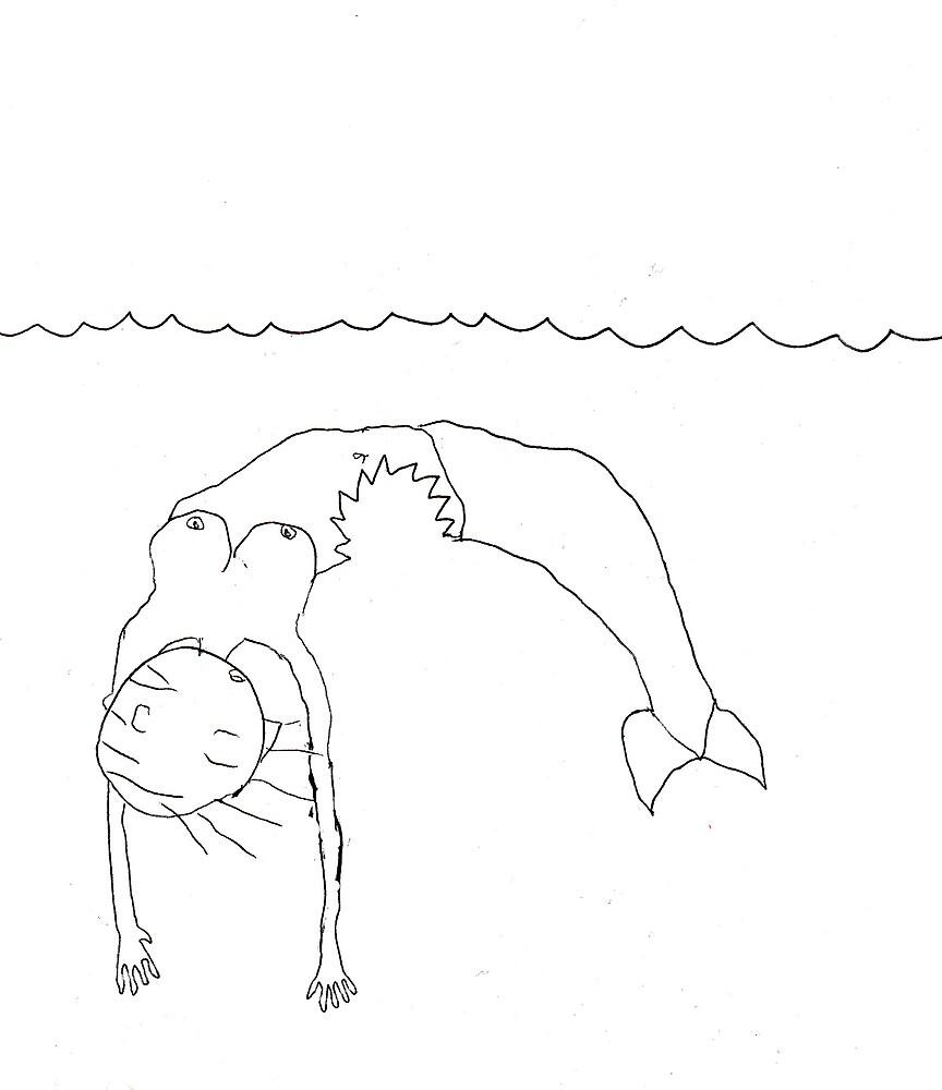 Dead Mermaid by Christian White