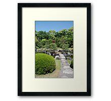 Nijo Castle Gardens, Kyoto  Framed Print