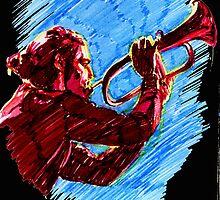 Jazz Portraits-Paolo Fresu by Francesca Romana Brogani