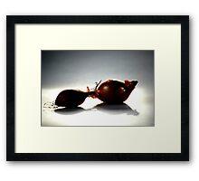 Shallots Framed Print