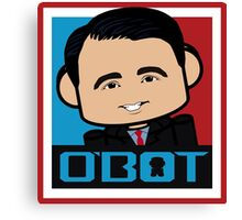 Scott Walker Politico'bot Toy Robot 3.0 Canvas Print