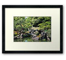 Ninomaru Gardens, Kansai  Framed Print